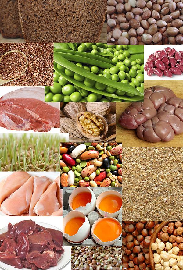 Витамин В1   продукты   Vitamin B1   Products