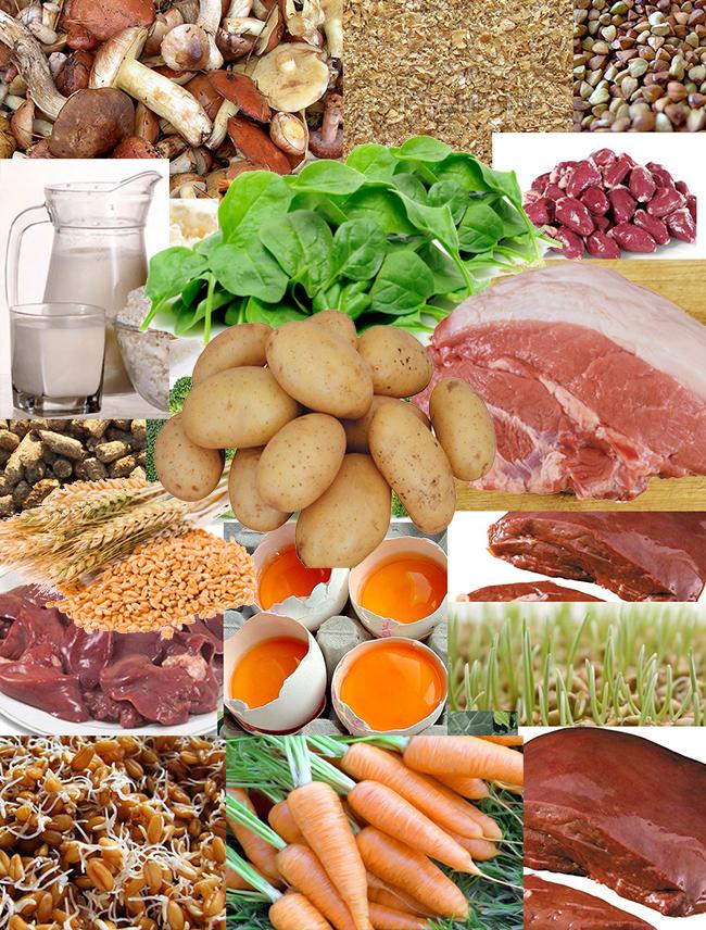 Витамин В10 | продукты | Vitamin B10 | Products