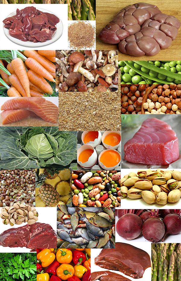 Витамин В3   продукты   Vitamin B3   Products