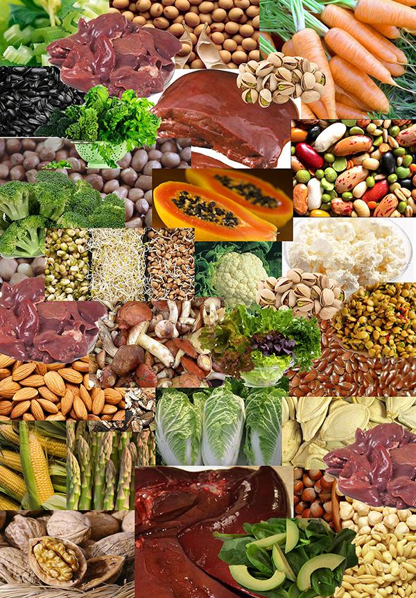 Витамин В9 | продукты | Vitamin B9 | Products