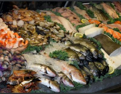 Таблица продуктов с высоким содержанием Омега 3. Рыба и Морепродукты